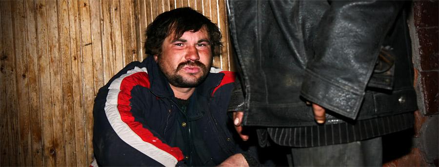 Бомжи в Сыктывкаре
