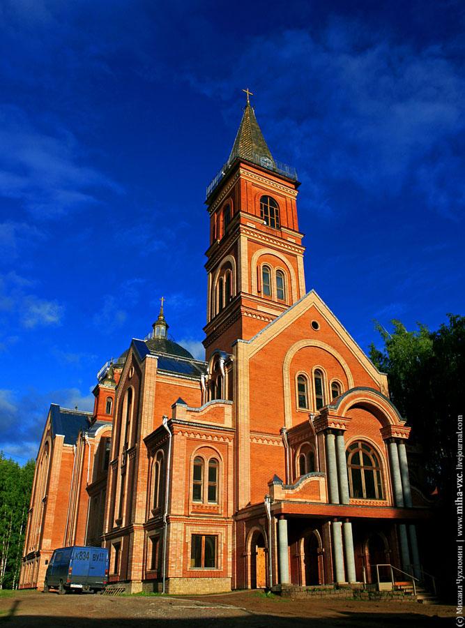 Храм баптистов в Сыктывкаре