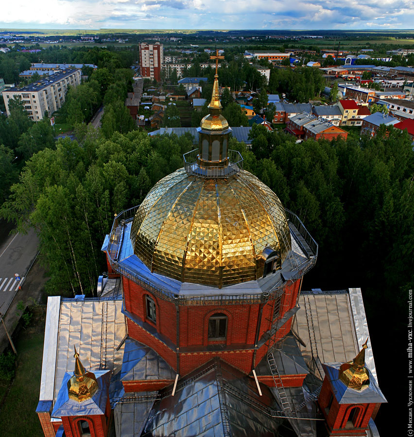 Баптистский храм в Сыктывкаре