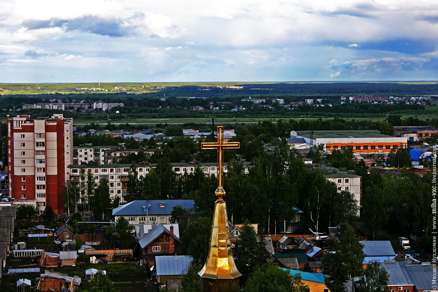 крест баптистского храма