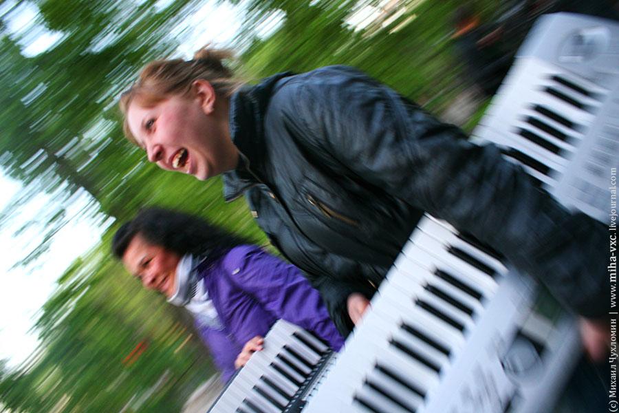 пианину сперли