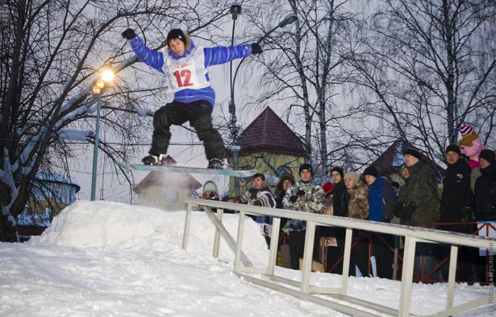 SnowBoard contest Сыктывкар