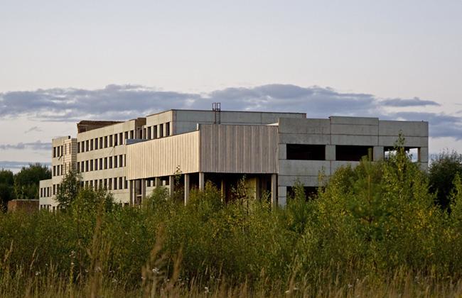 заброшенный аэропорт в Сыктывкаре