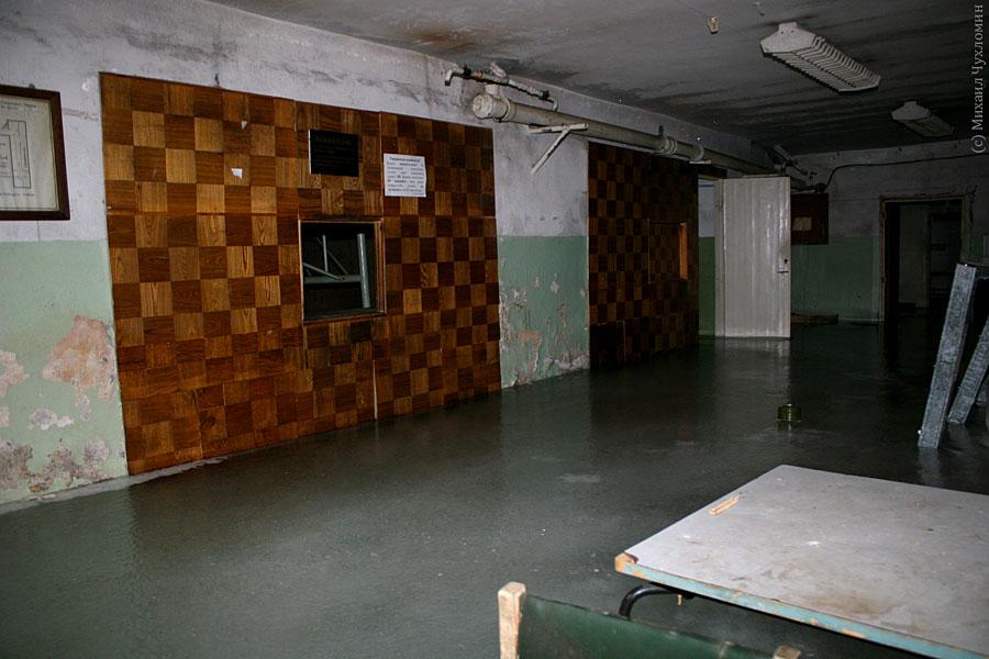 Заброшенная больница в Сыктывкаре гардероб