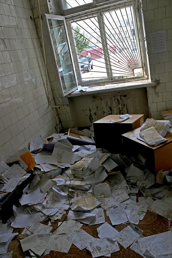 Заброшенная больница в Сыктывкаре документы
