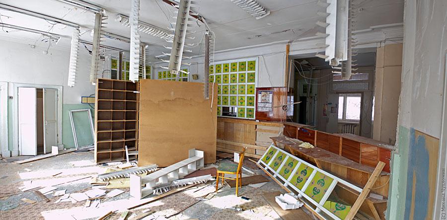 Заброшенная больница в Сыктывкаре регистратура