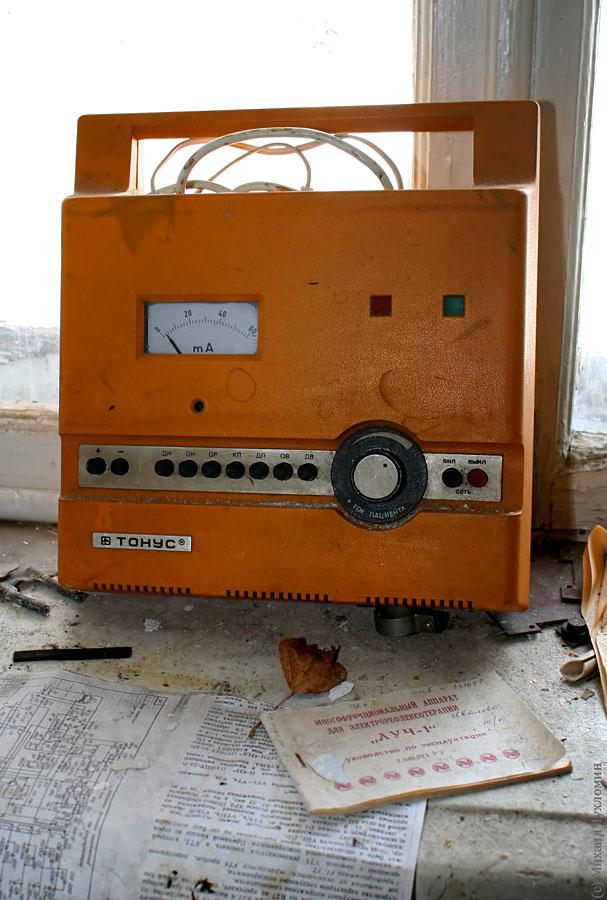 Заброшенная больница в Сыктывкаре стимулятор