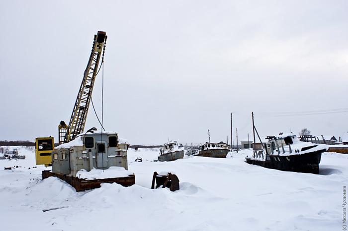 Кладбище кораблей в Сыктывкаре