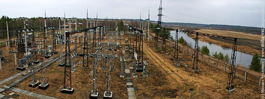 электроподстанция Ухта