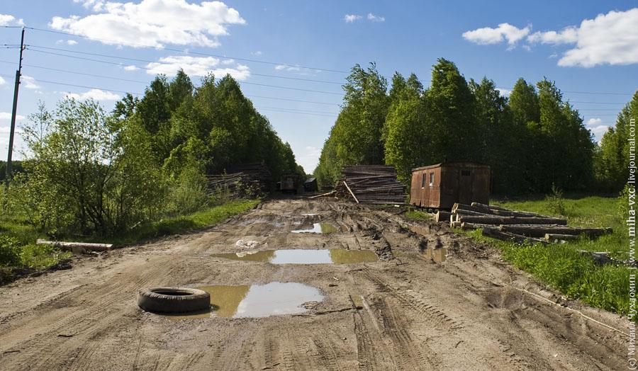 лесозаготовительный пункт Сыктывкаром