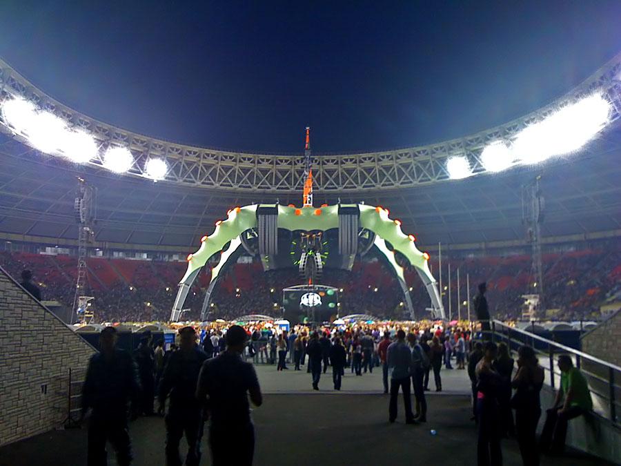 U2 в Москве