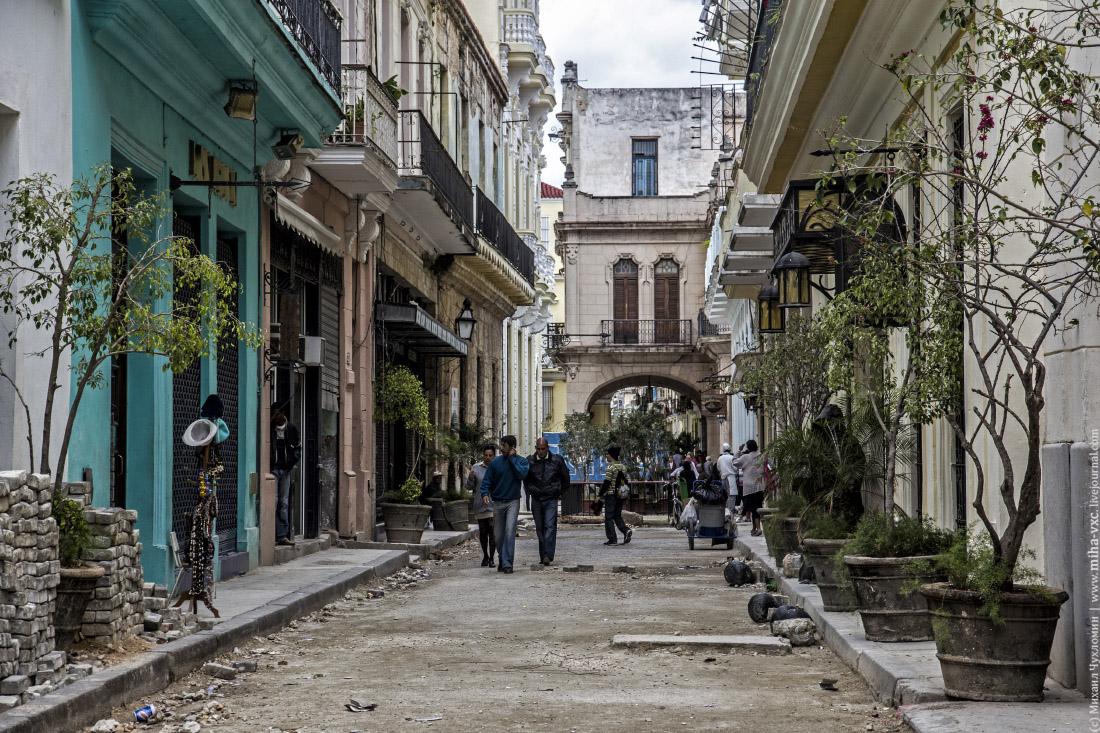 Улицы Старой Гавана