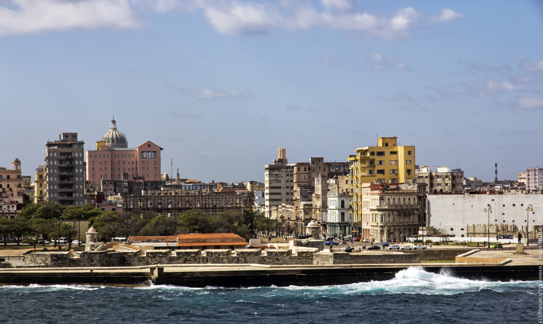 Набережная Старой Гаваны