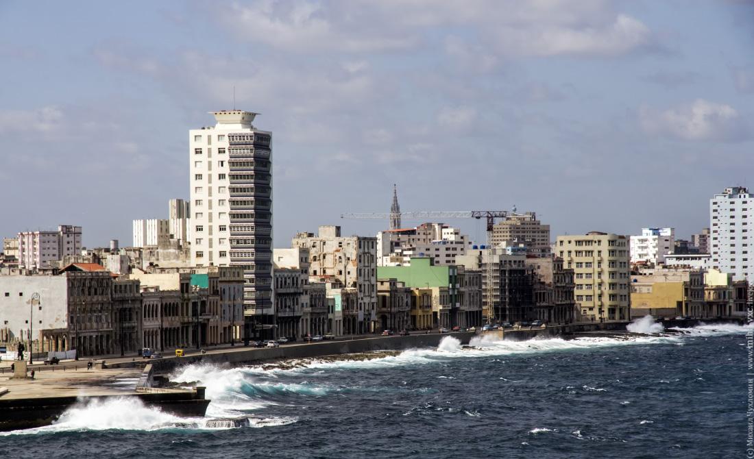 Набережная Современной Гаваны