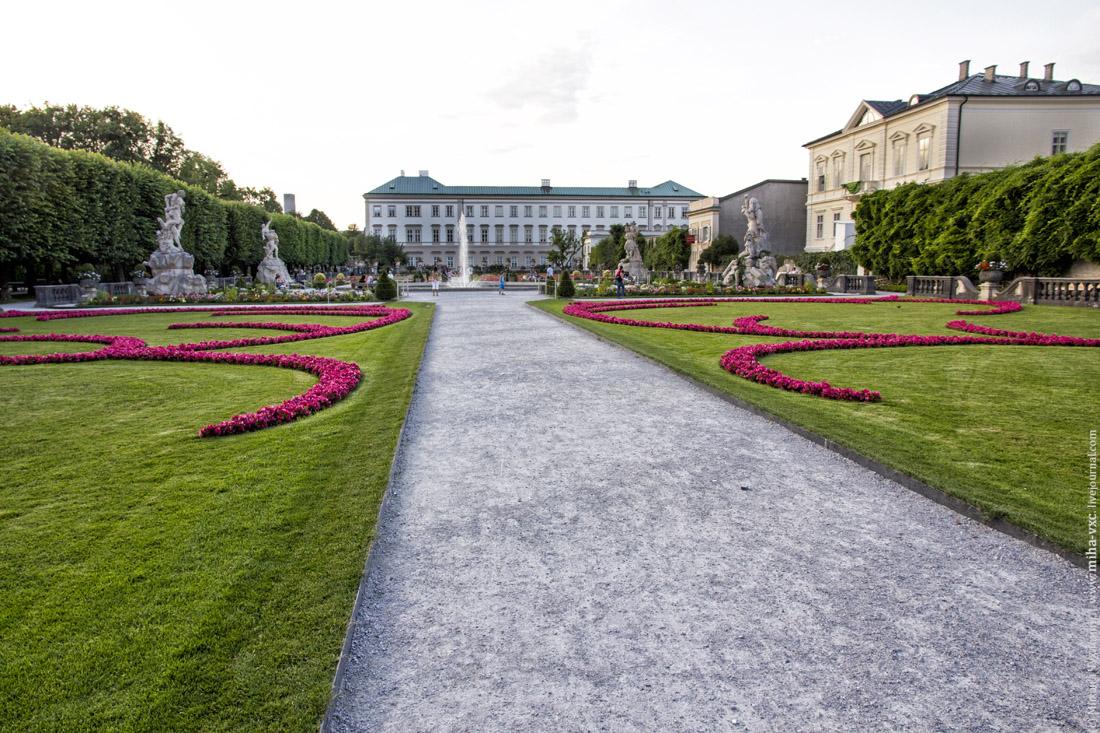 фонтаны парка Мирабель
