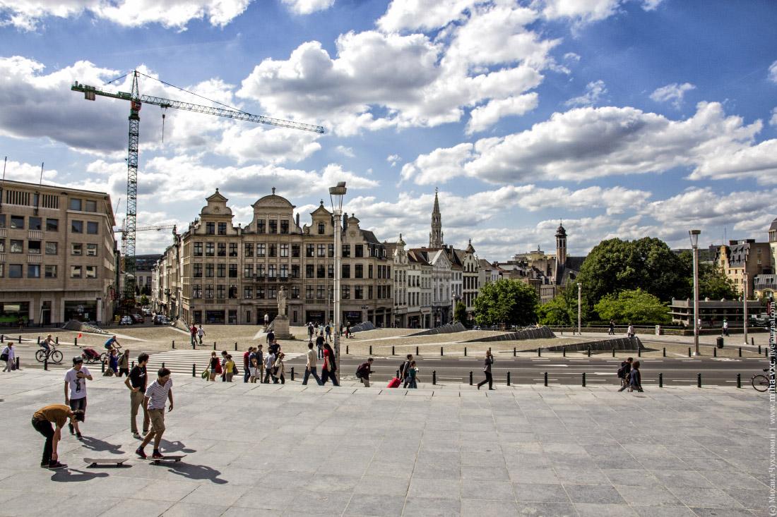 Старый город Брюссель