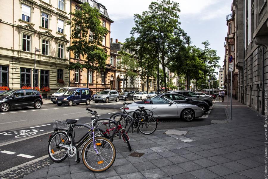 Улочки Франкфурт-на-Майне