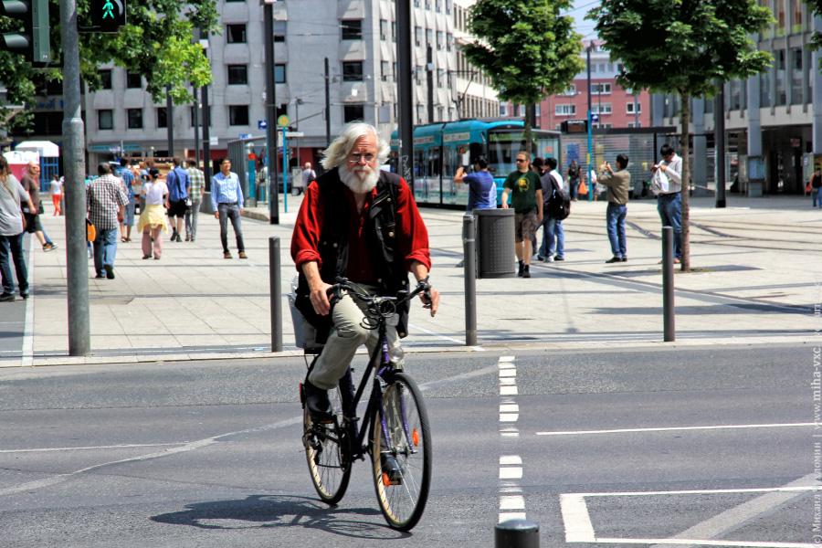 велосипеды во Франкфурт-на-Майне