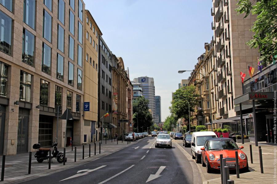 Улицы в Франкфурт-на-Майне