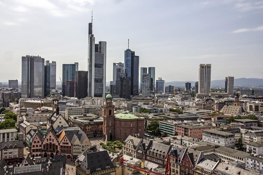 Исторический и финансовый центры Франкфурта-на-Майне