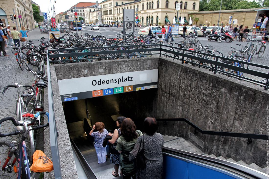 велосипеды в мюнхене