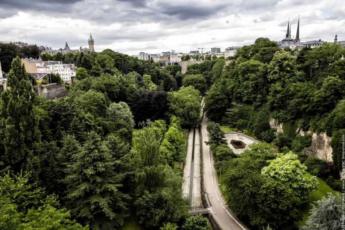 Центральный парк Люксембурга