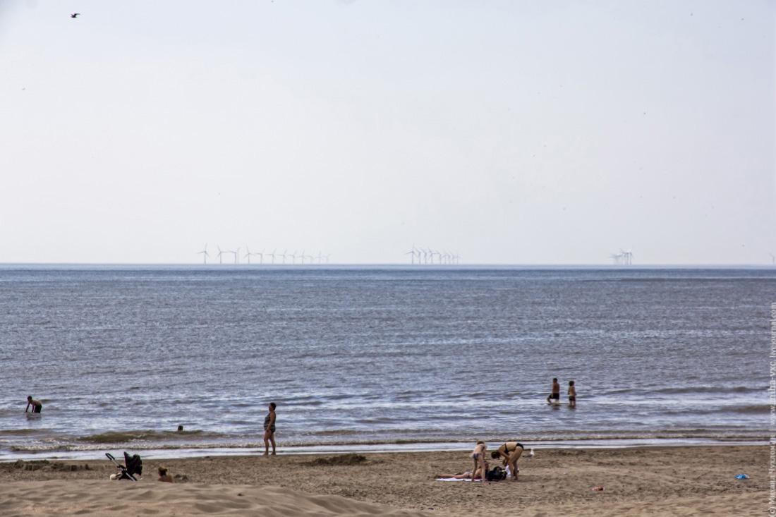 Амстердам ветроэлектростанции