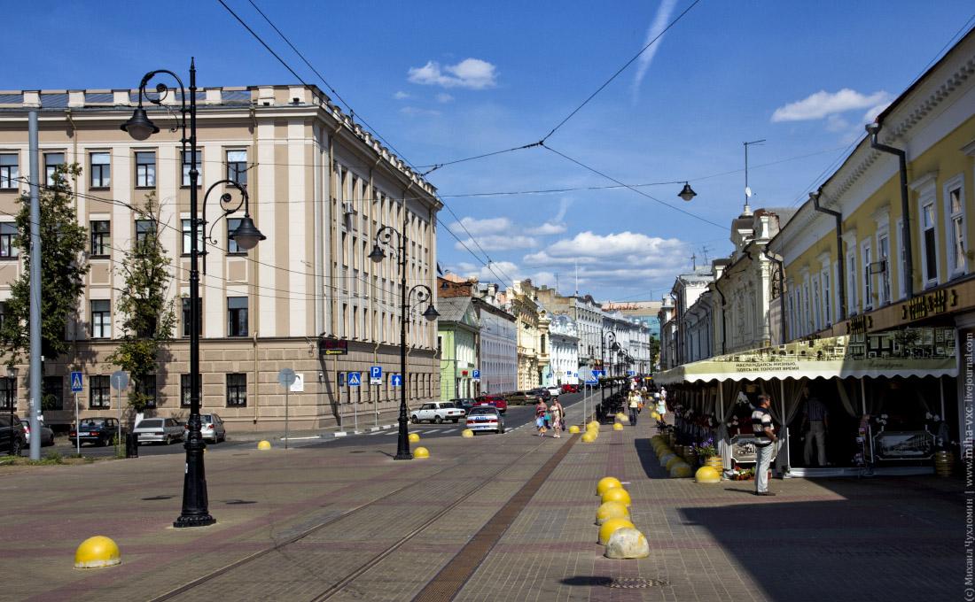 улочки Нижний Новгород