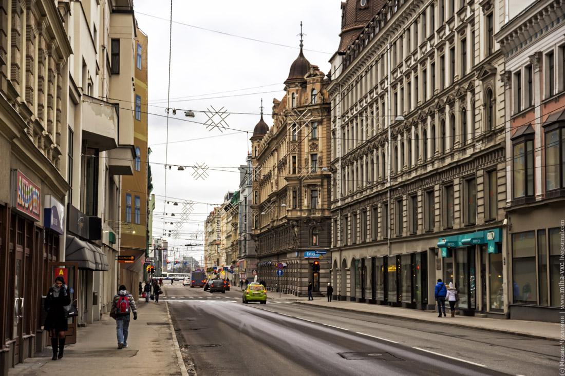 Улица Кристиана Барона