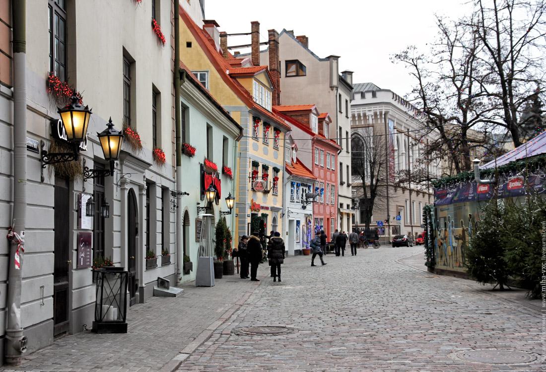 Рождественский базар Рига