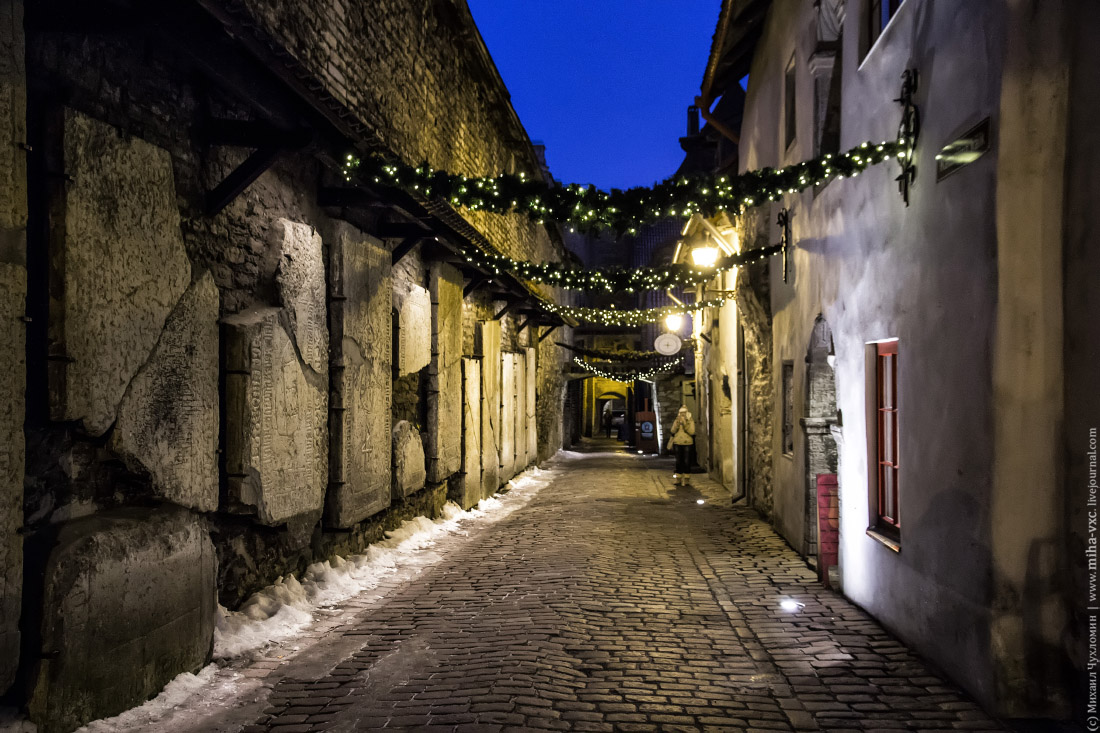 Таллин, Эстония | Новогодний