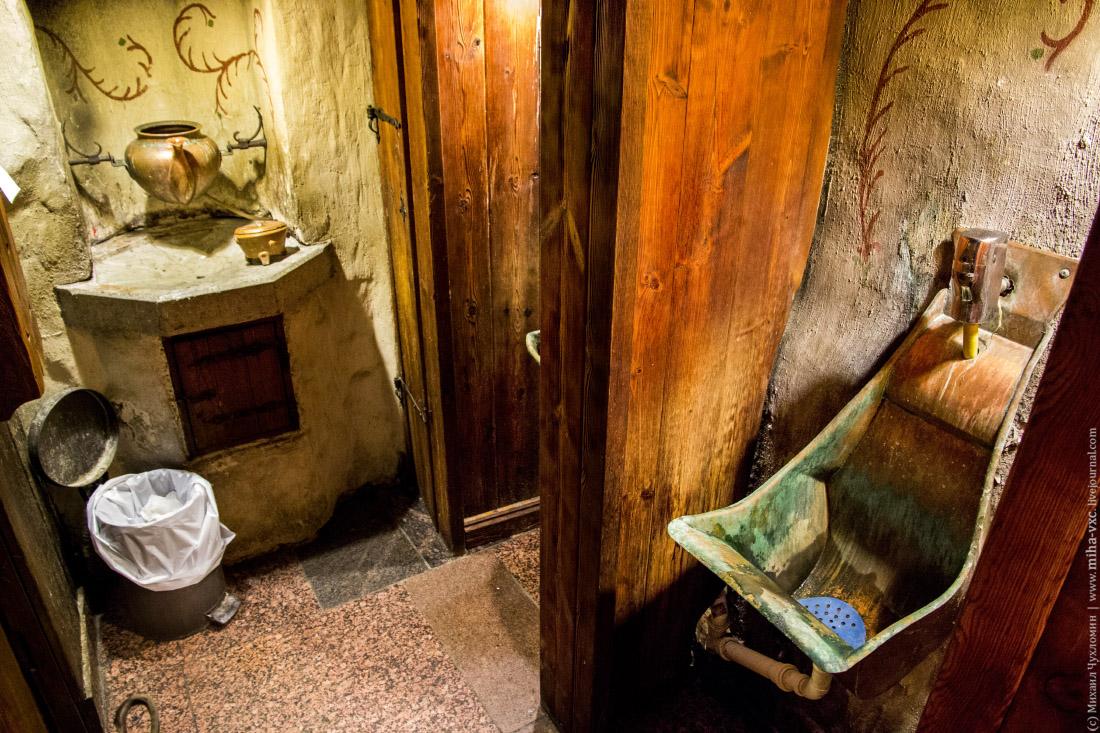 туалеты в Olde Hansa