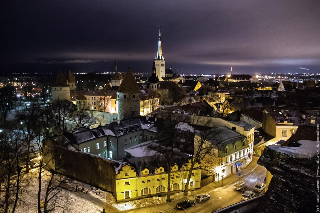 Нижний город Таллина