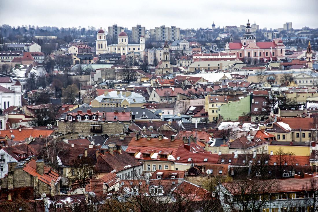 Крыши Вильнюс