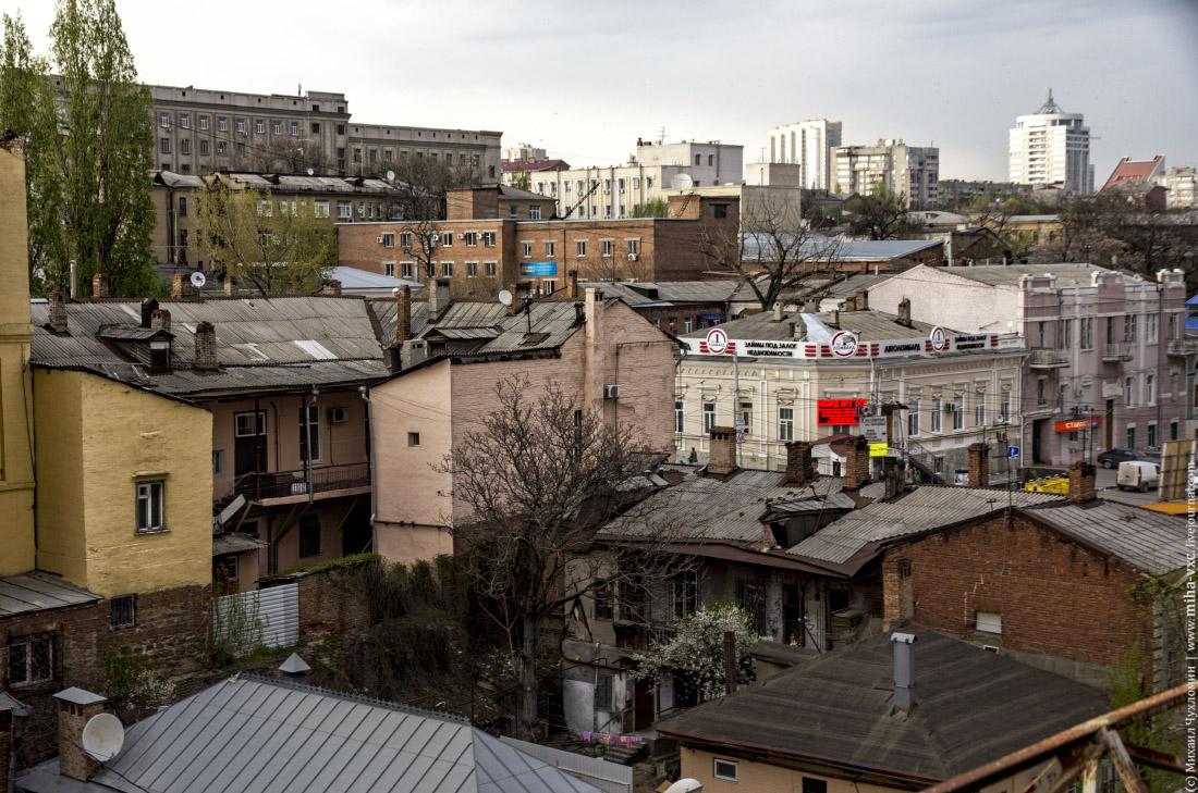 Разнообразие застройки в Ростове-на-Дону