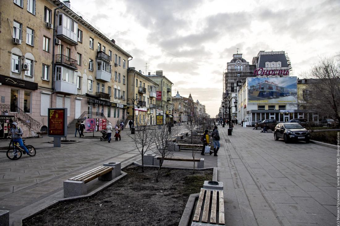 пешеходная улица Самары