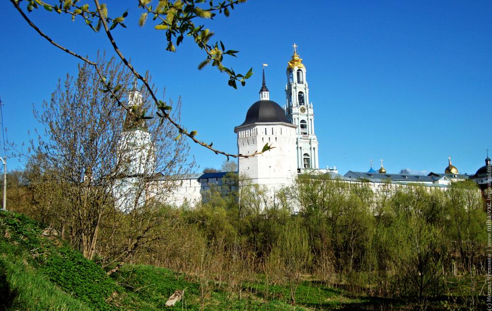 Стены, Водяная башня и Колокольня Сергиев Посад
