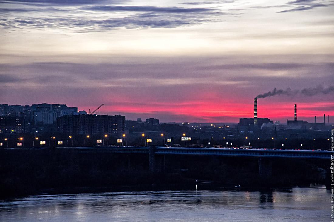 Обь Новосибирск