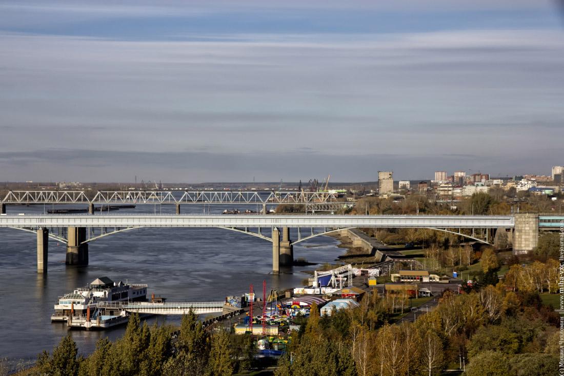 Новосибирск днем