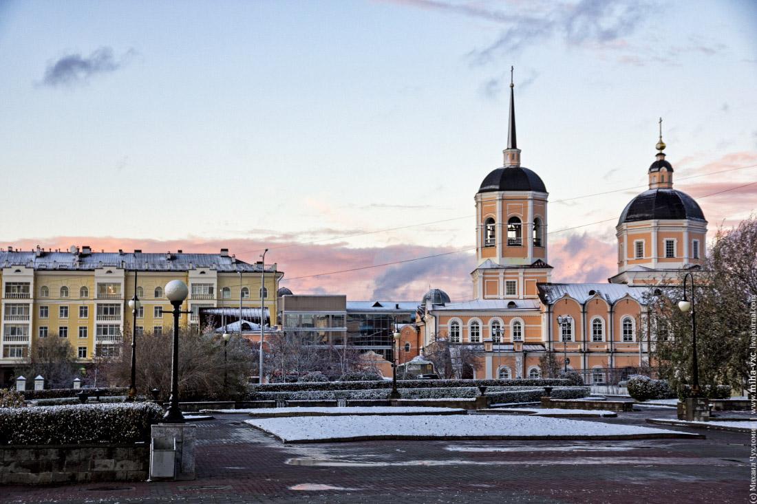 Богоявленский кафедральный собор в Томске