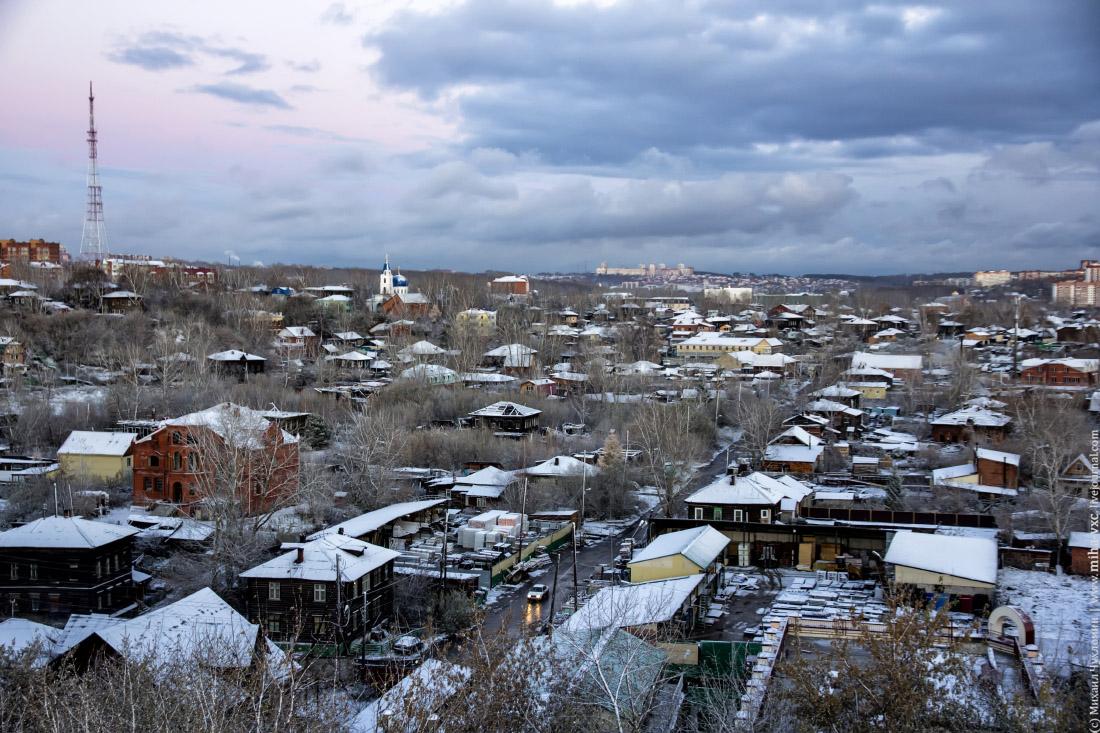 деревянный Томск