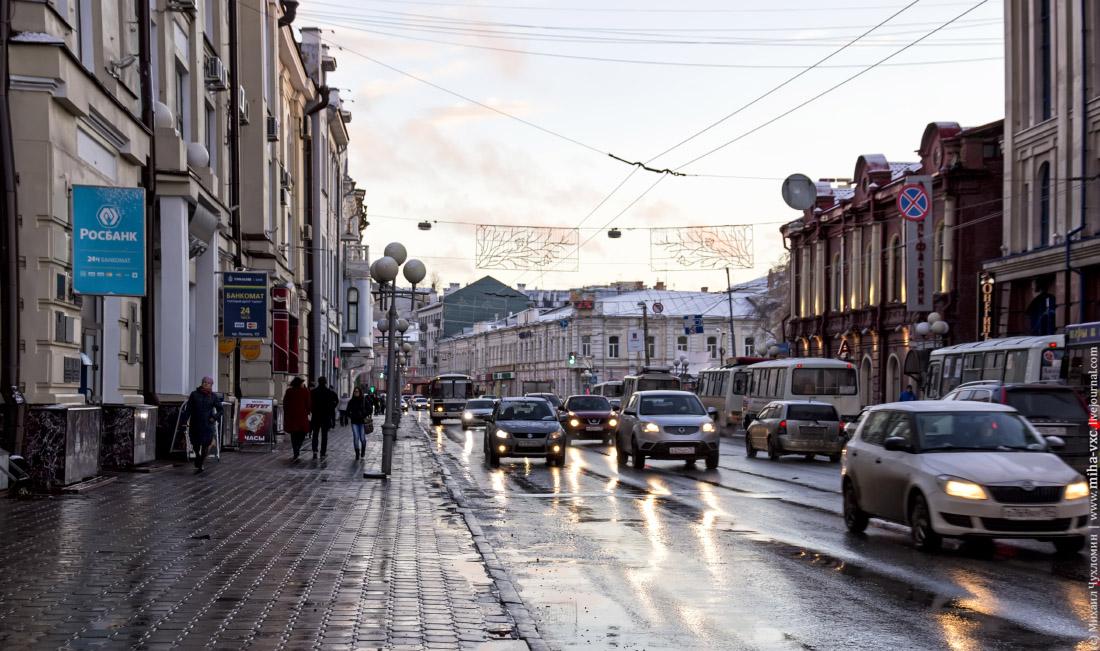 Томск улица Ленина