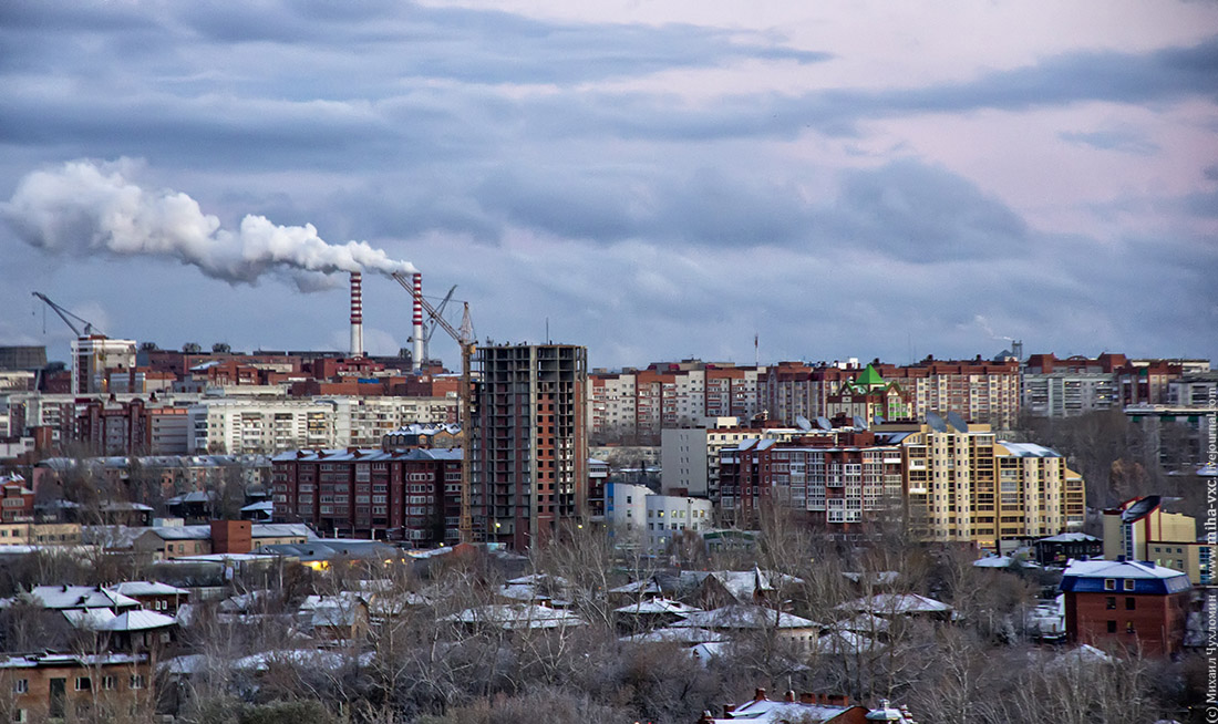 улица в Томске