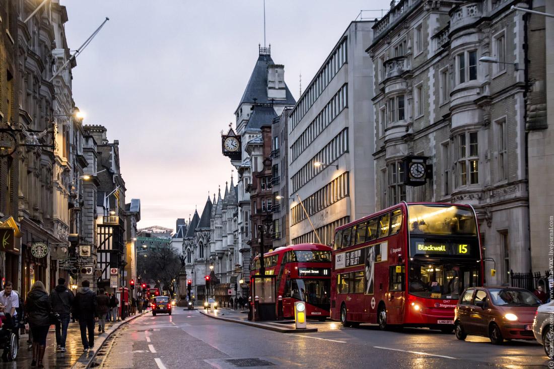 вечер в Лондоне
