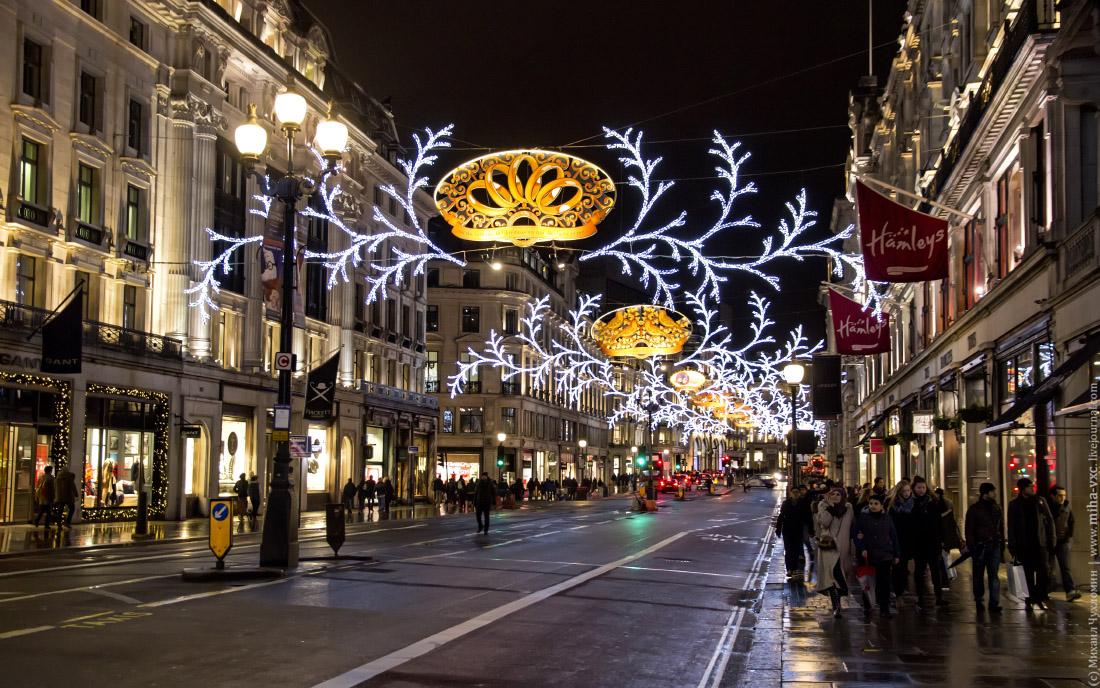 Рождественские улочки