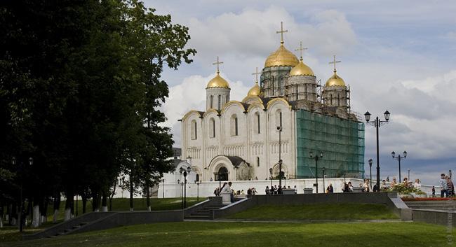 Успенский собор Андрей Рублев Владимир фото отчет