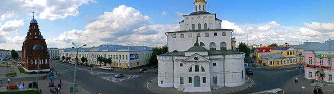 Золотые ворота Троицкая церковь Владимир фото отчет