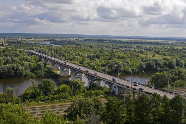 Мост через реку Клязьму Владимир фото отчет