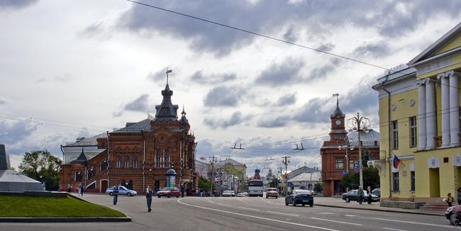 Здание бывшей городской Думы Владимир фото отчет